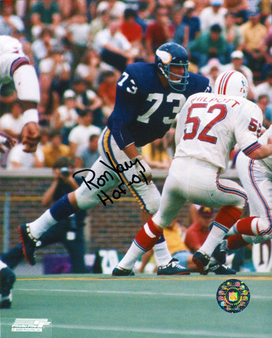 Ron Yary Autographed 8x10 Photo