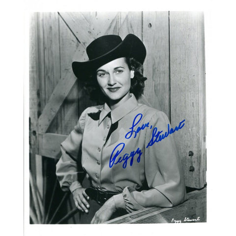 Peggy Stewart Autographed 8x10 Photo