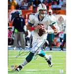 Chad Henne Autographed / Signed Looking to Pass 16x20 Photo