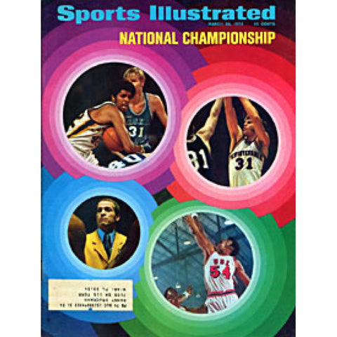 National Championship Unsigned Sports Illustrated Magazine - March 26 1972