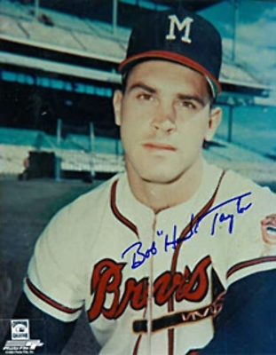 Hawk Taylor Autographed 8x10 Baseball Photo