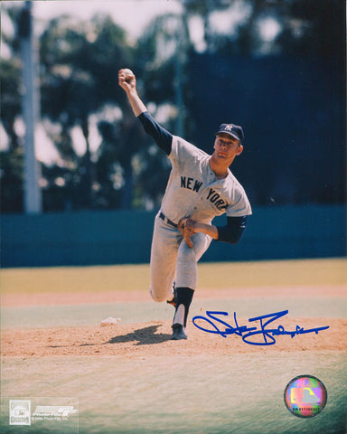 Stan Bahnsen Autographed 8x10 Photo
