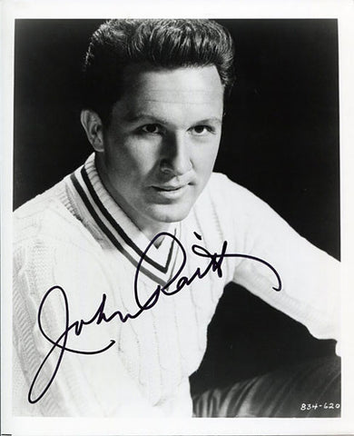 John Raitt Autographed / Signed 8x10 Photo