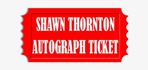 Shawn Thornton Any Item Pre-Order Autograph Ticket