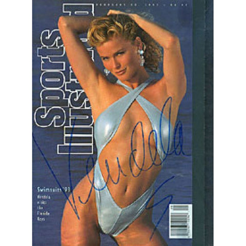 Vendela Autographed / Signed Sports Illustrated Collector's Bound Issue with COA 2/16/94