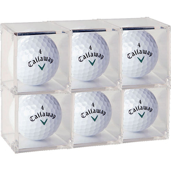 Golf Ball Acrylic Display Cube (Case of 6)