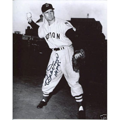 Bob Doerr Autographed/Signed 8x10 Photo