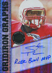Stepfan Taylor Rose Bowl MVP Autographed 2013 Press Pass Rookie Card