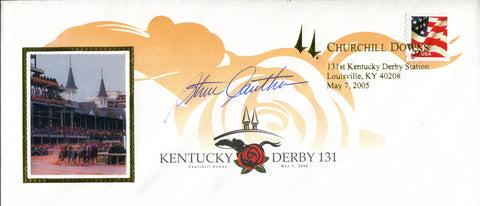 Steve Cauthen Autographed Kentucky Derby 1st Day Cover