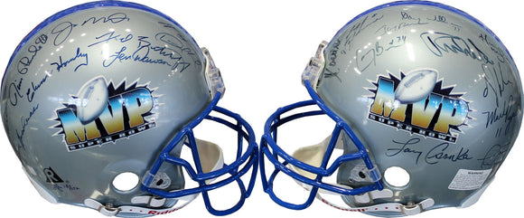 Super Bowl MVP's Autographed Super Bowl MVP Authentic Helmet