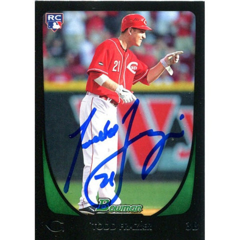 Todd Frazier Autographed 2012 Bowman Rookie Card