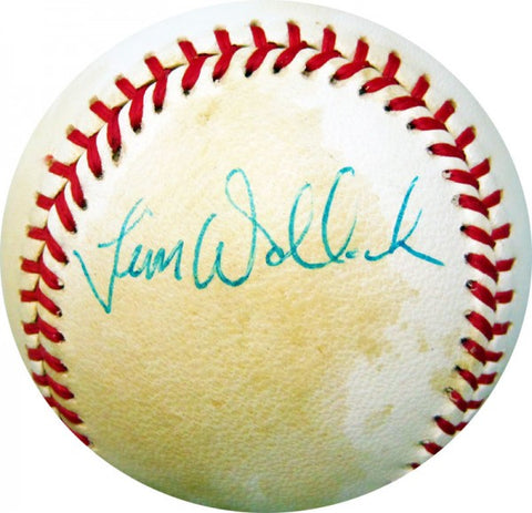 Tim Wallach Autographed Baseball