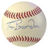 Tom Lasorda Autographed Baseball