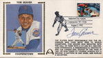 Tom Seaver Autographed Aug 2, 1992 First Day Cover (JSA)