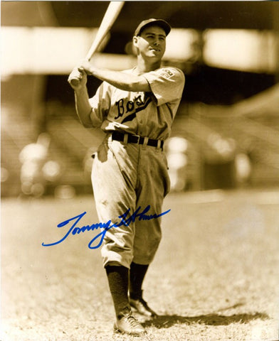 Tommy Holmes Autographed 8x10 Photo