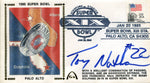 Tony Nathan Autographed Gateway First Day Cover