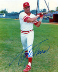 Tracy Jones Autographed 8x10 Bat Photo