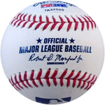 Travis Shaw Autographed Baseball (PSA/DNA) Back