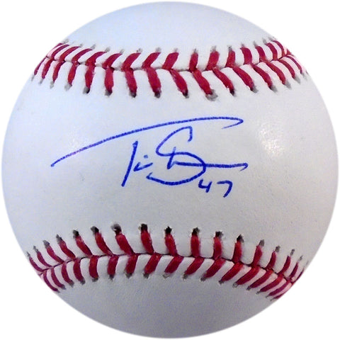 Travis Shaw Autographed Baseball (PSA/DNA)