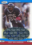 Troy Williamson Autographed 2005 Sage HIt Rookie Card