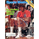 Bill Walton Autographed Sports Illustrated Magazine- August 21, 1978