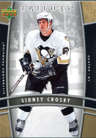 Sidney Crosby Unsigned 2006-2007 Upper Deck Card