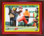 Tyreek Hill Autographed Framed 11x14 Photo