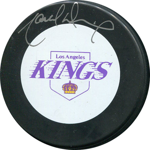 Marcel Dionne Autographed Los Angeles Kings Official Puck
