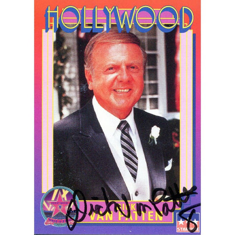 Dick Van Patten Autographed Hollywood Card