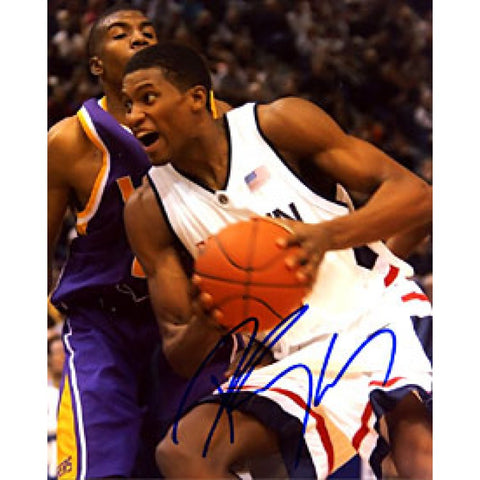Rudy Gay Autographed / Signed 8x10 Photo