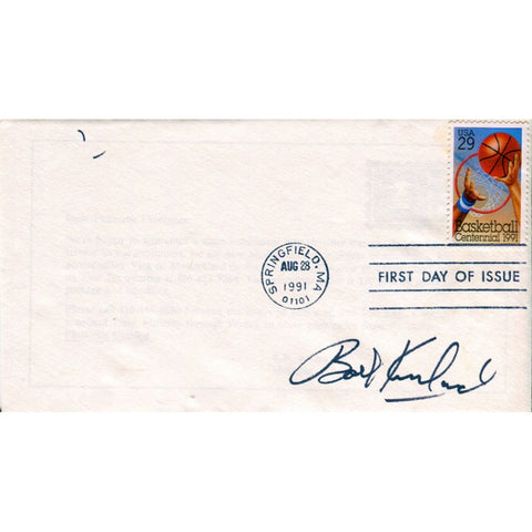 Bob Kurland Autographed First Day Cover