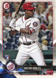 Victor Robles 2018 Bowman Rookie Card