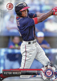Victor Robles 2017 Bowman Rookie Card