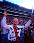 Vince Dooley Autographed 8x10 Football Photo
