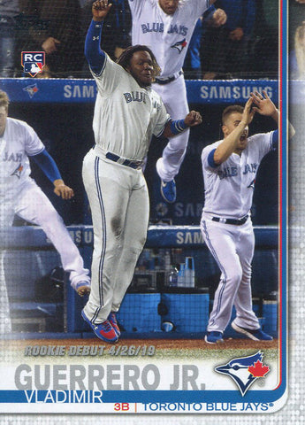Vladimir Guerrero Jr. 2019 Topps Rookie Card #US62