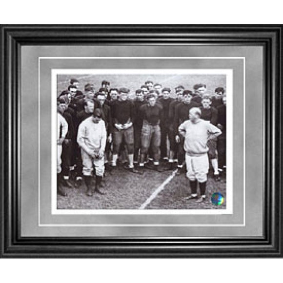 Knute Rockne Framed 8x10 Photo