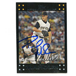 Paul Maholm Autographed/Signed 2007 Topps Card