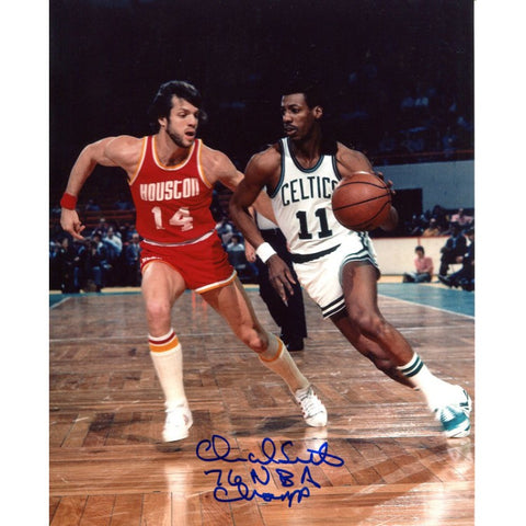 Charlie Scott 76 NBA Champ Autographed 8x10 Photo