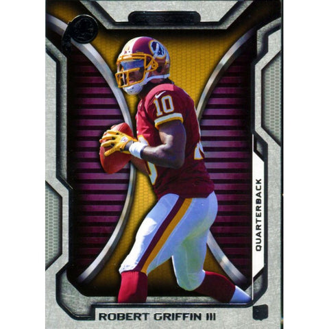 Robert Griffin III Unsigned Topps 2012 Card
