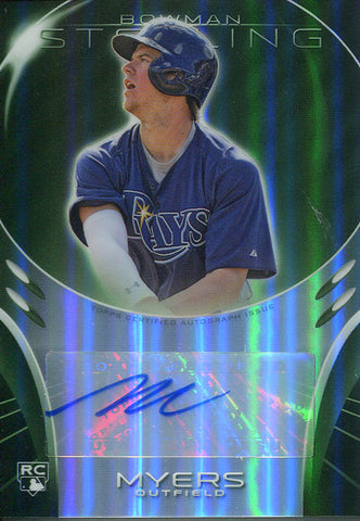 Wil Myers Autographed 2013 Bowman Sterling Card