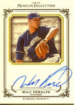 Wily Peralta Autographed 2013 Topps Museum Collection Card