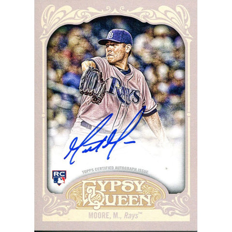 Matt Moore Autographed 2012 Topps Gypsy Card