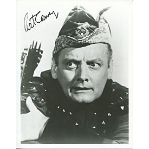 Art Carney Autographed/Signed 8x10 Photo