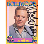 Van Johnson Autographed Hollywood Card