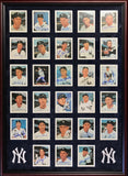 New York Yankees Hall of Famers & Stars Autographed Framed 21x29 Postcards