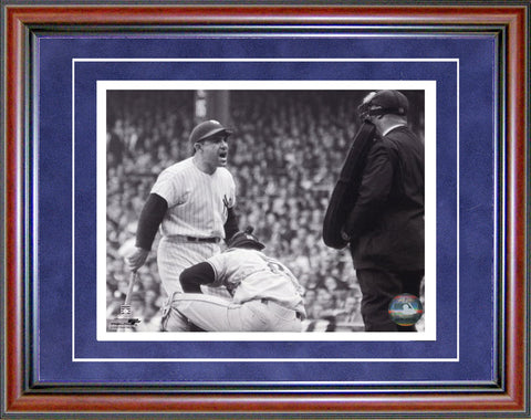 Yogi Berra Unsigned Framed Black & White 8x10 Photo