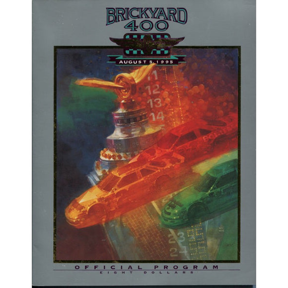 Indianapolis Motor Speedway Brickyard 400 Official Program 1995