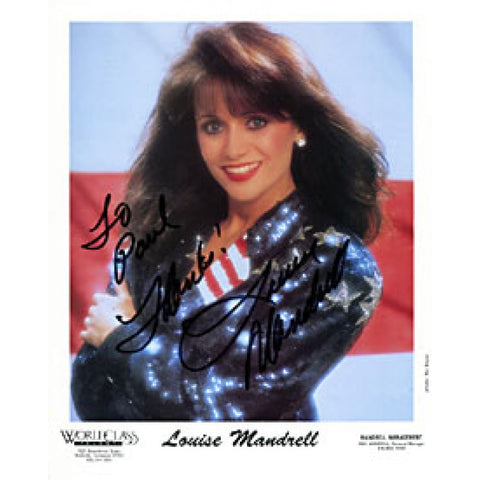 Louise Mandrell Autographed / Signed 8x10 Photo
