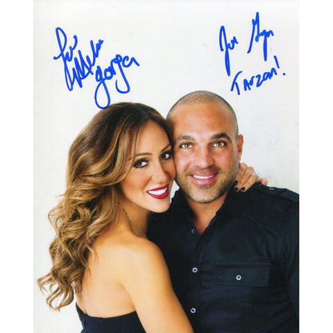 Melissa and Joe Gorga Autographed 8x10 Photo