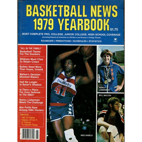 Basketball News 1979 Yearbook
